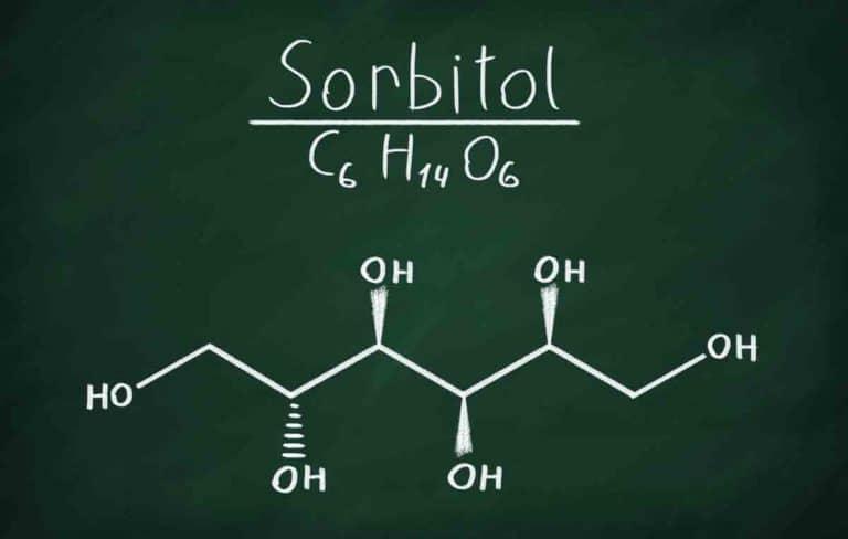 Sorbitol-Strukturformel